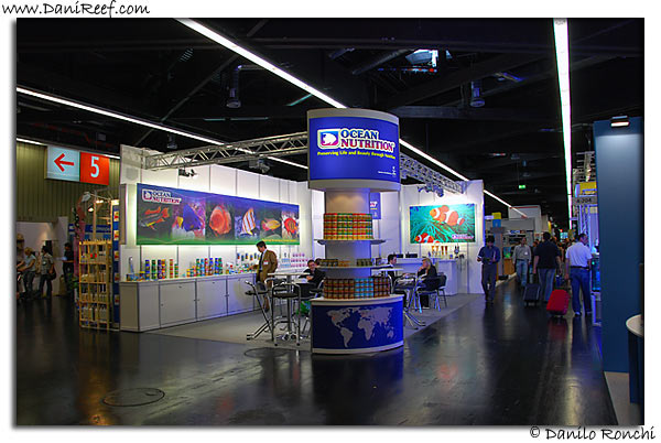 Ocean Nutrition stand
