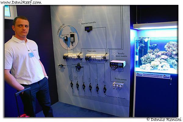 Aquatronica stand