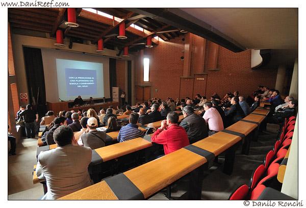 Pubblico durante una conferenza - Formia 2009