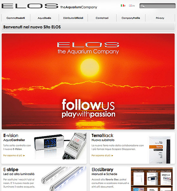 Elos presents his new web site totally revisited Elosweb