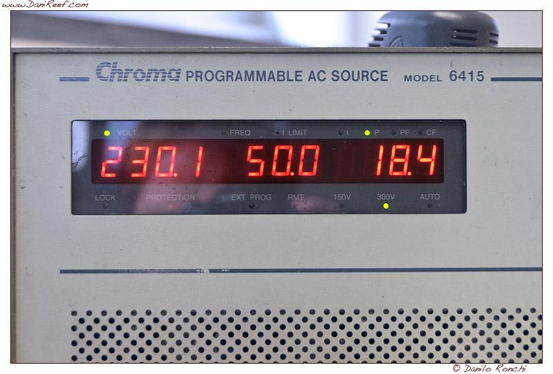 Schiumatoio LGMaquari LGs950: solido, efficiente e doppia pompa - consumo pompa di alimentazione