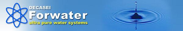 Banner sito FORWATER di DECASEI