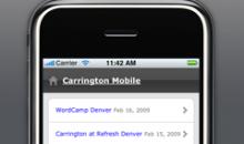 DaniReef in versione mobile – Mobile version of DaniReef