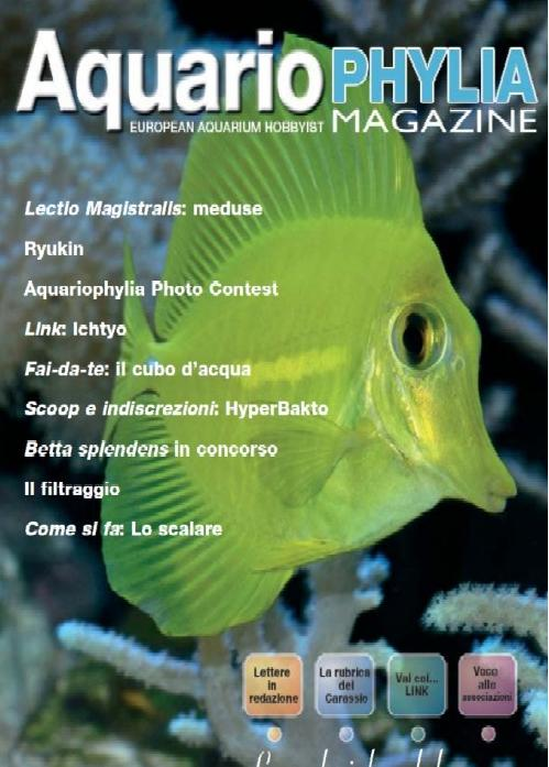 Aquariophylia N°8, Settembre