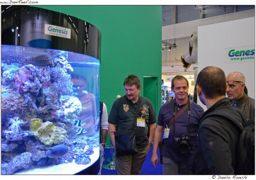 Interzoo 2012- Genesis, Deltec, D-D The Aquarium Solution and Sander booth