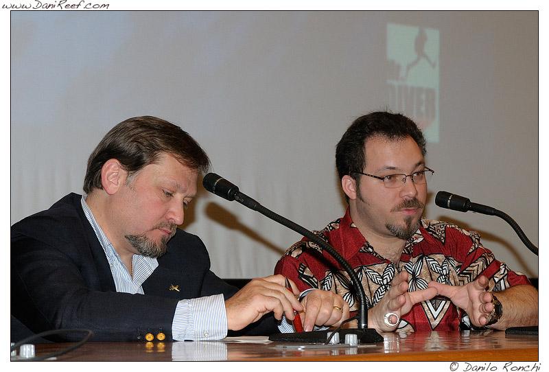 massimo carcione, anthony rosario calfo, raduno reefitalia 2009