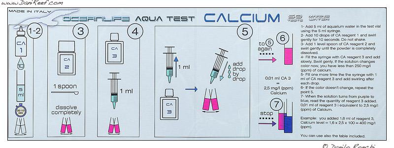 Oceanlife test kit calcio