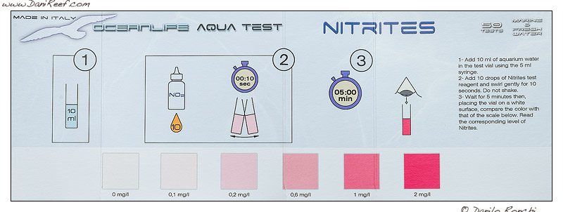 Oceanlife test kit nitriti no2