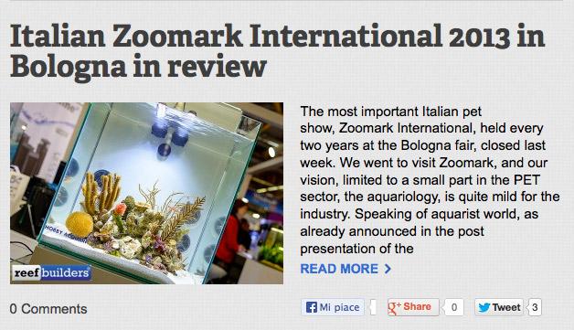 zoomark 2013 acquari in esposizione newa