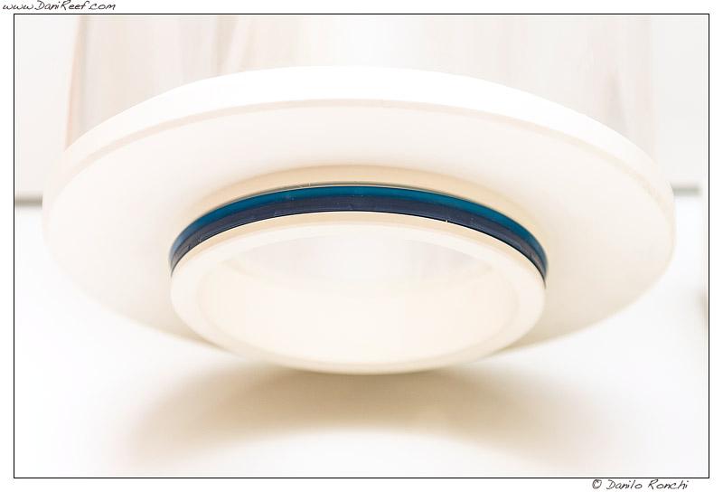 schiumatoio ultrareef akula UKS-180 - particolare del coperchio