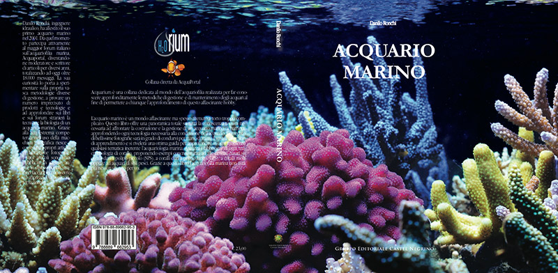 libro acquario marino di danilo ronchi