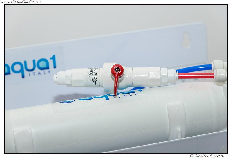 il restrittore dell'impianto ad osmosi inversa AQUA1 75SX