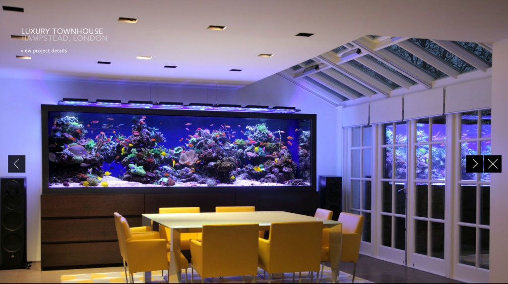 luxury townhouse aquarium london
