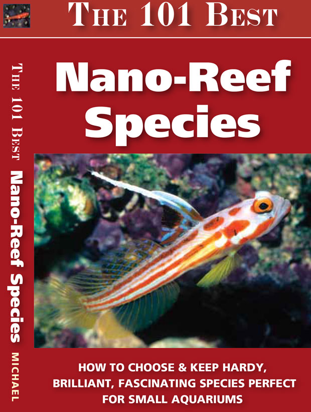 Copertina del libro The 101 Nano Reef species
