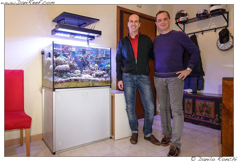 acquario marino nanoreef raffaele galano roma con danilo ronchi danireef