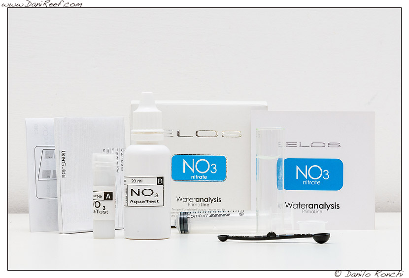 Elos test no3 nitrati - contenuto della confezione