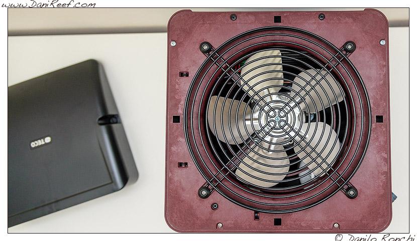 Refrigeratore Teco TK 500 - vista dall'alto