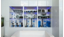 Interzoo 2014: the Blau aquaristic booth with Lumina Led – Hybrid and Xcuma skimmers