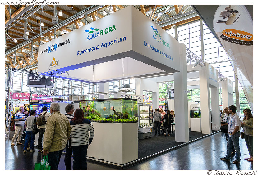 Interzoo 2014 - stand de jong marinelife