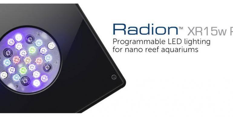 Plafoniere Per Nanoreef : Radion xr w pro la nuova plafoniera per nanoreef di ecotech