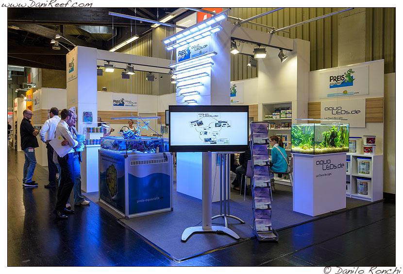 lo stand AquaLEDS alla fiera interzoo di norimberga 2014