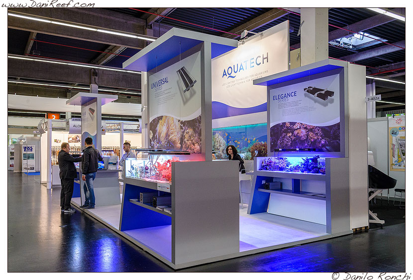 Lo stand Aquatech all'Interzoo di Norimberga