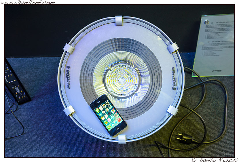 Giesemann Galaxxy 500 led allo stand Giesemann all'Interzoo 2014