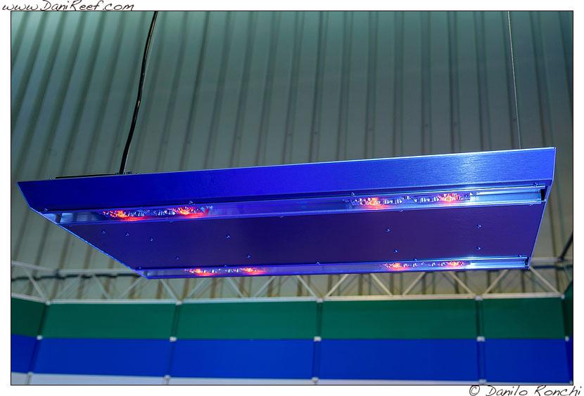 I Led della Sirius LED nello stand ATI presso la fiera Interzoo di Norimberga