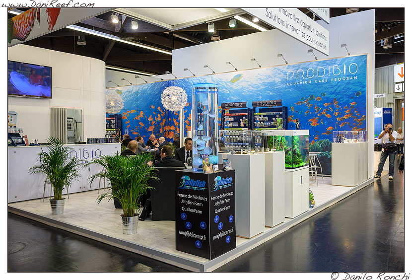 Lo Stand Prodibio alla fiera Interzoo di Norimberga 2014
