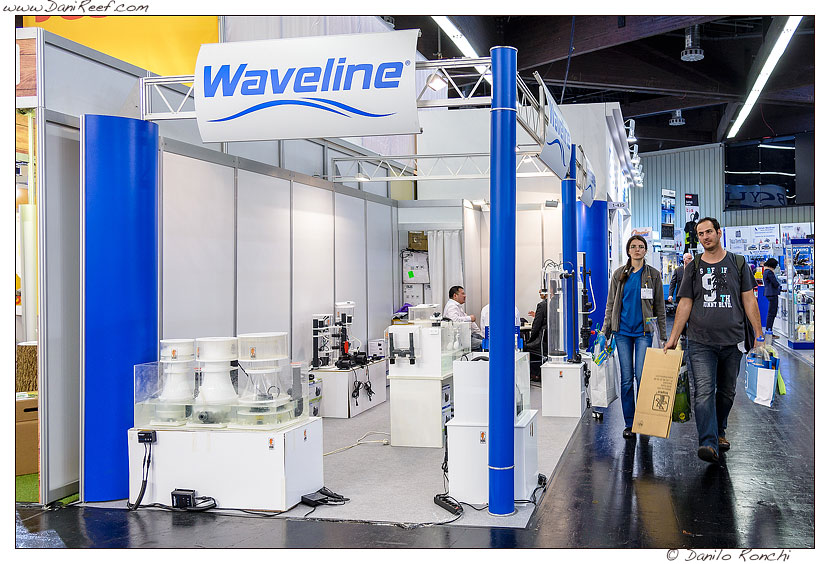 The stand WaveLine and RLSS during Interzoo 2014
