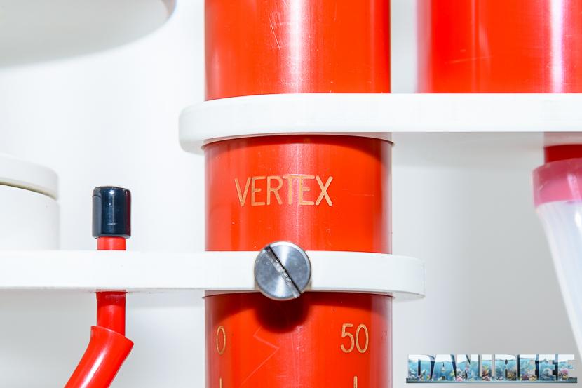 Schiumatoio Vertex Omega 180i - regolazione dello scarico