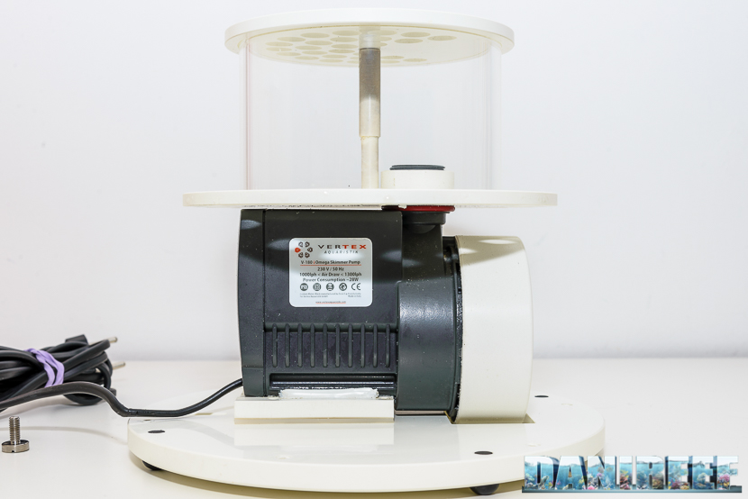 Schiumatoio Vertex Omega 180i - pompa