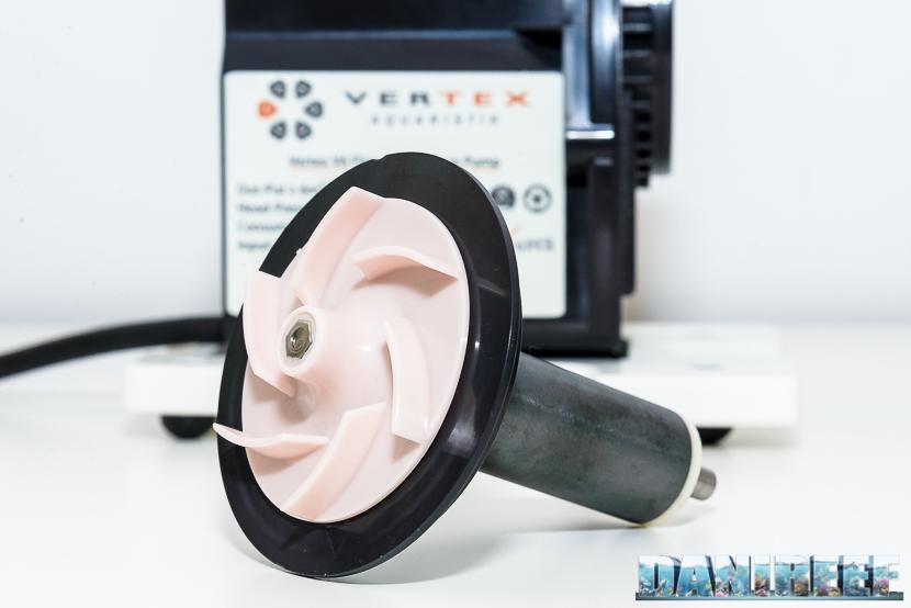 la girante della pompa vertex v6