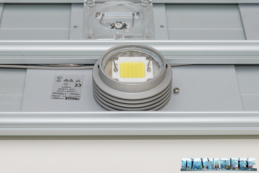 superled bianco da 30 watt nella ceab slide&led