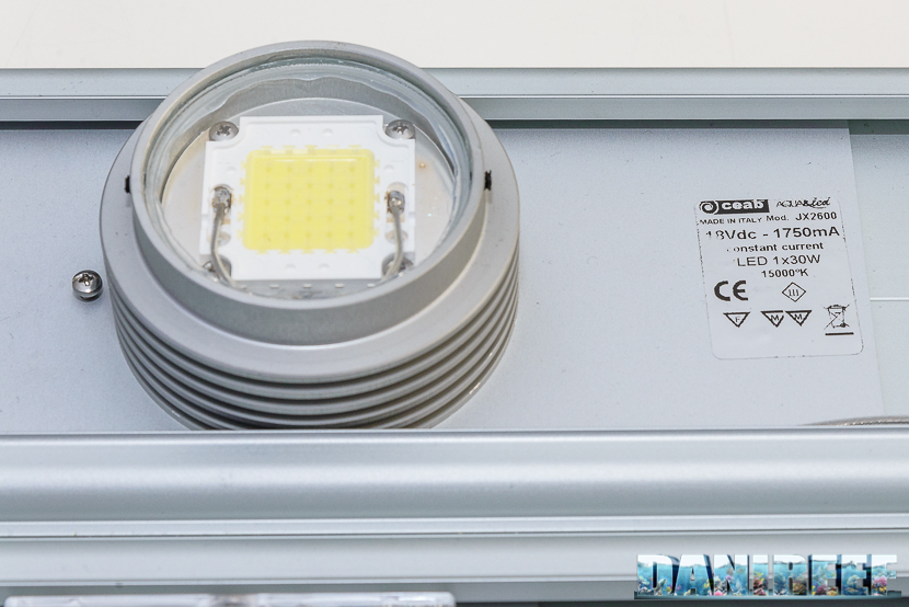 plafoniera ceab aqua&led: superled da 30 watt