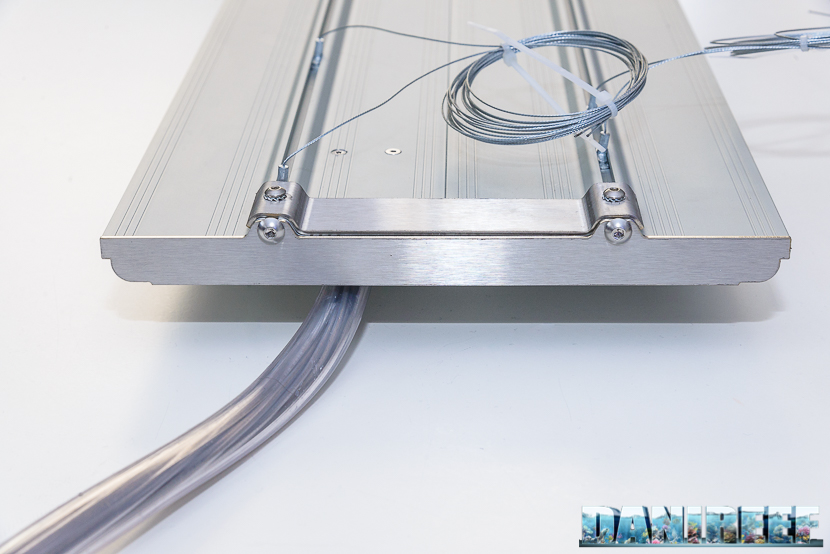 Plafoniera a led CEAB Slide&Led - cavi di installazione