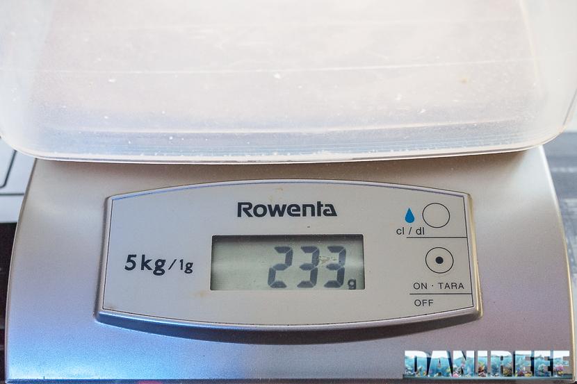 peso sale aquaforest reefsalt miscelato con acqua
