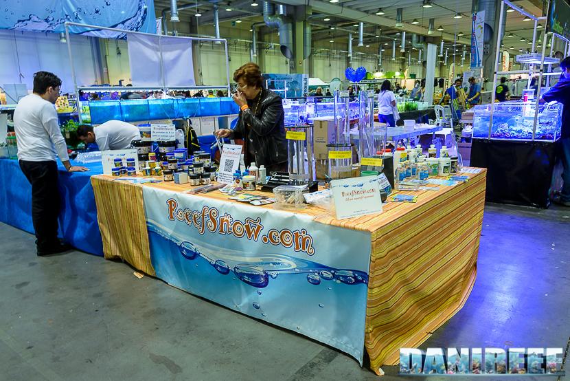 Lo stand ReefSnow presso il Piacenza PetsFestival 2014