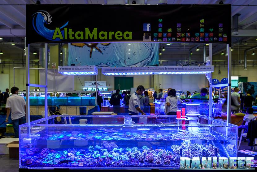 Lo stand AltaMarea presso il Piacenza PetsFestival 2014