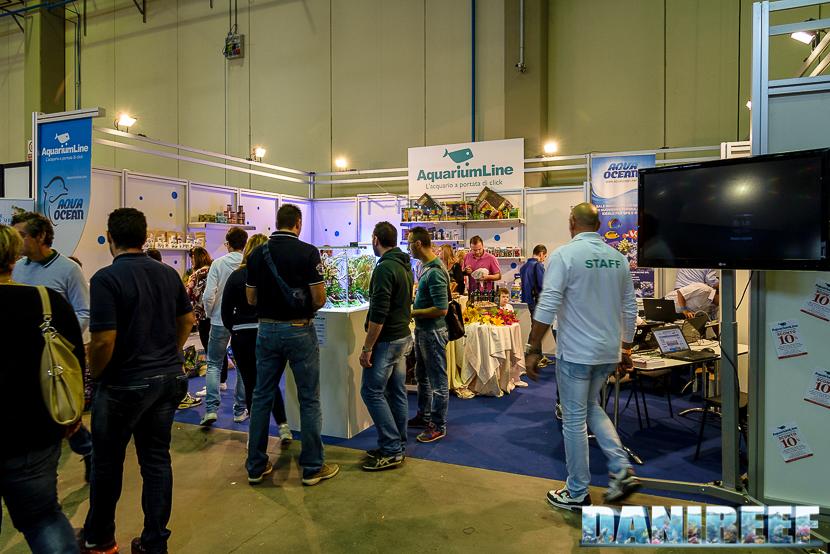 lo stand AquariumLine presso Piacenza PetsFestival 2014