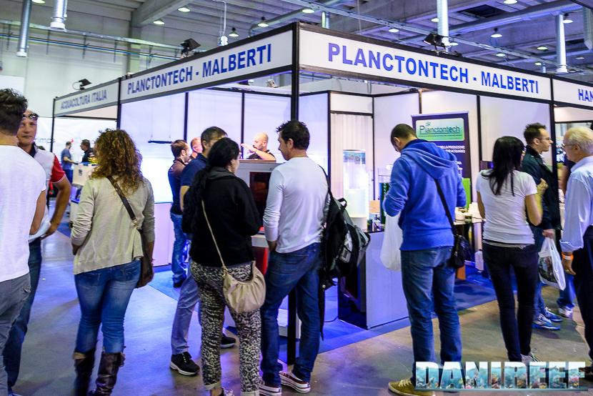 Lo stand Planctontech Malberti presso il Piacenza PetsFestival 2014