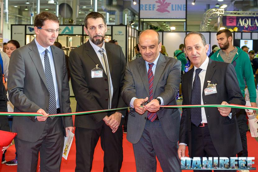 Marco Rosetti ed il Sindaco di Piacenza all'apertura del PetsFestival