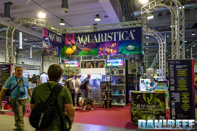 Lo stand Aquaristica presso il Piacenza PetsFestival 2014