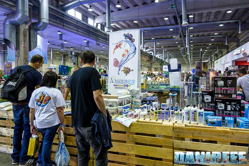 Lo stand Aquarium Style presso Piacenza PetsFestival 2014