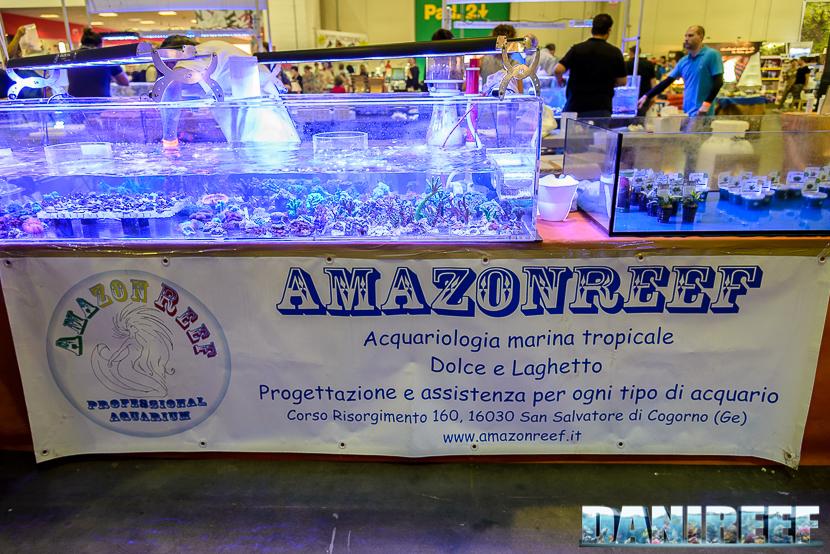 Lo stand AmazonReef presso il Piacenza PetsFestival 2014