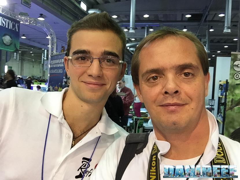 Davide Landolfo e Danilo Ronchi DaniReef al PetsFestival 2014