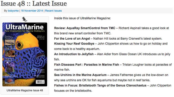 ultramarine magazine 48 - contenuti