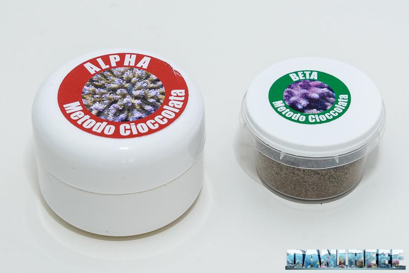 Il metodo cioccolata in acquario marino - alpha e beta