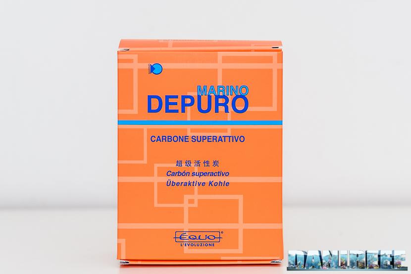 carbone attivo equo Depuro Marino confezione da 500 ml