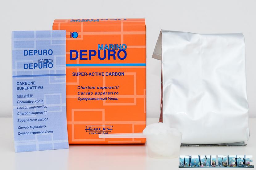 carbone attivo equo Depuro Marino contenuto confezione da 500 ml